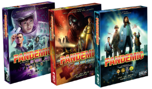 Pandemic and 2 expansions