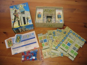 Aton components. Picture by BGG user SteveK2