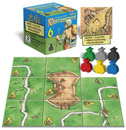 Carcassonne Mini 6: The Robbers contents