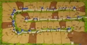 Carcassonne 2.0 score board