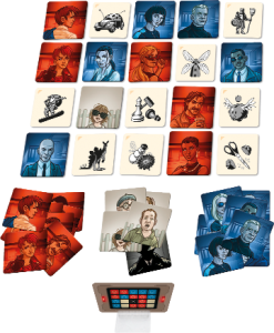 Codenames: Pictures components