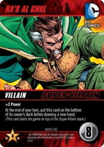DC Comics Deck-building Game Ras Al Ghul Super-Villain