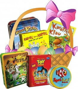 Easter Basket Of Games