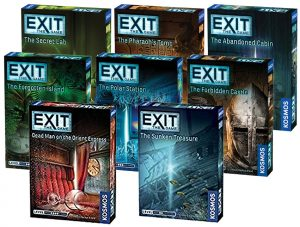 Exit: The Game series