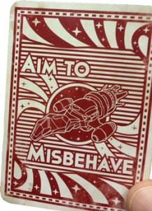 Firefly: The Game Misbehavin card