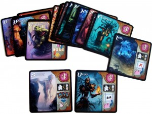 Five Tribes Djinn cards