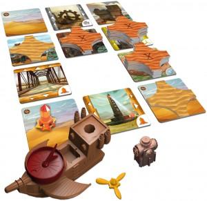 Forbidden Desert - components