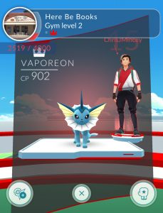 Red Valor Gym with an opening