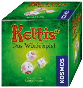 Keltis Das Wurfelspiel, aka Keltis: The Dice Game