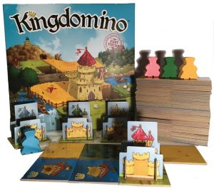 Kingdomino: Giant Version components