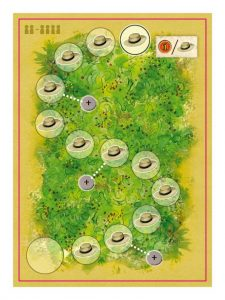 La Granja: No Siesta! siesta track. Move up the track to acquire more discs.