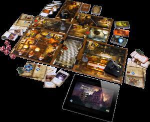 Mansions of Madness 2nd Ed setup