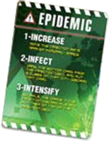 Pandemic 2nd Edition - Epidemic Card