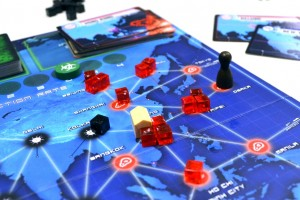 Pandemic 2nd Edition closeup
