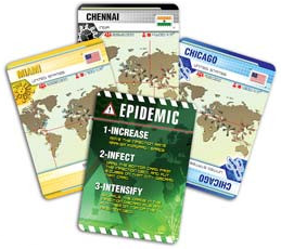Pandemic 2nd Edition - sample Player Cards