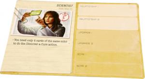 Pandemic: Legacy sample Character card