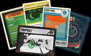 Pandemic Legacy: Season 2 - New Cards