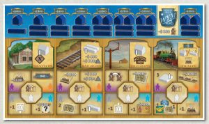 Railroad Revolution player board