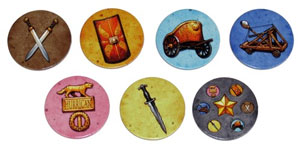 Rise of Augustus mobilisation tokens