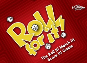 Roll For It! - Red version with translucent dice