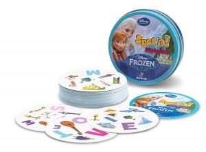 Spot It! Frozen Alphabet - contents