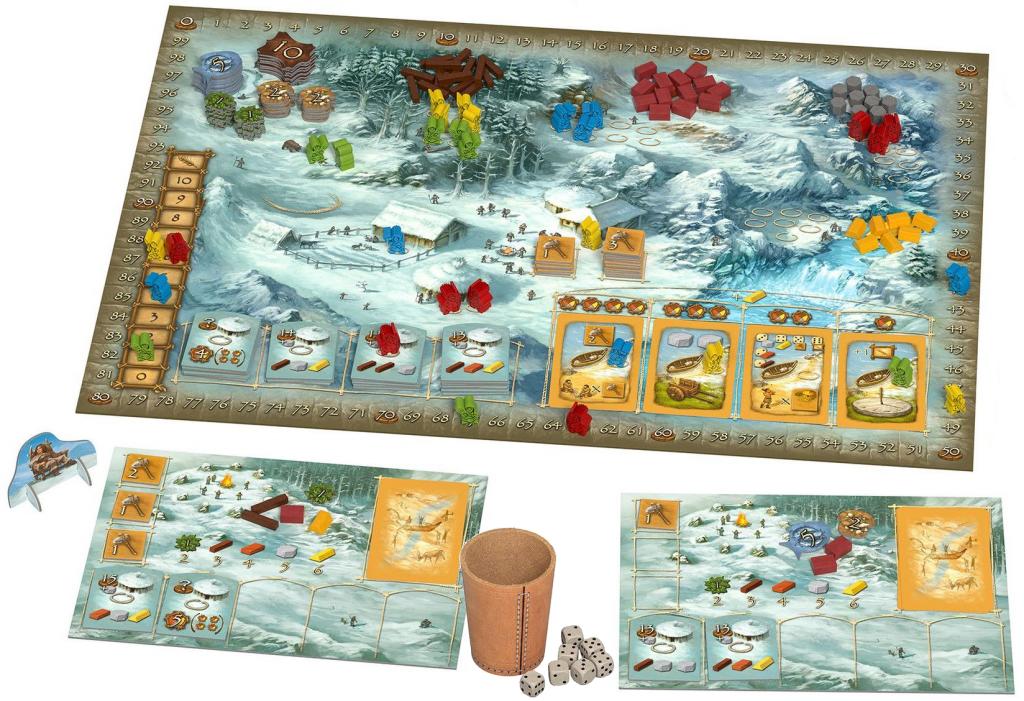 Stone Age: Anniversary game in progress
