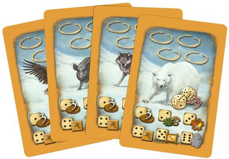 Stone Age: Anniversary new Animal Threat cards