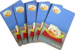 Sushi Go! Dumpling cards