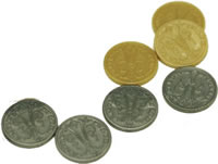 The Builders: Middle Ages plastic coins