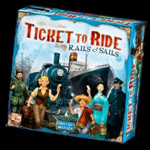 Ticket to Ride: Rails & Sails