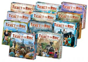 Ticket to Ride series of games and map expansions