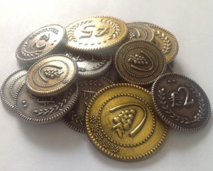 Metal coins from Tuscany
