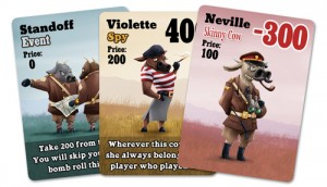 Unexploded Cow Deluxe Edition - sample cards