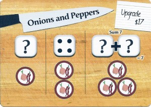 Wok Star Onions and Peppers Preparation Card