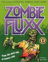 Zombie Fluxx the Ever-Changing Zombie Card Game