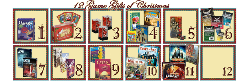 12 Game Gifts of Christmas: 11th Day