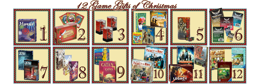 12 Game Gifts of Christmas: 12th Day
