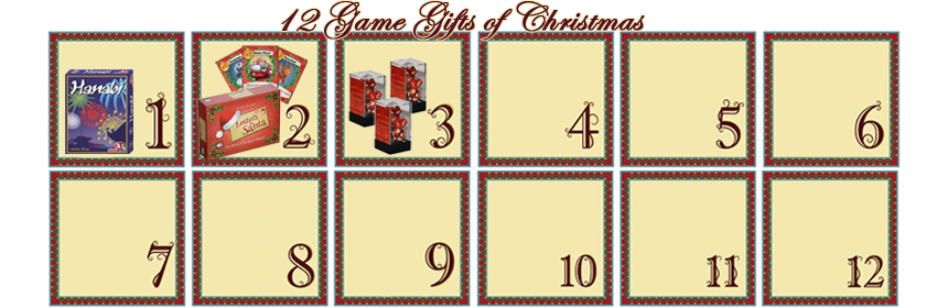 12 Game Gifts of Christmas: 3rd Day