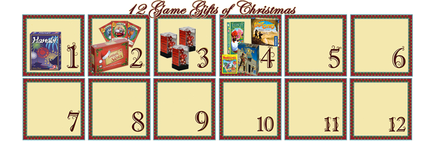 12 Game Gifts of Christmas: 4th Day