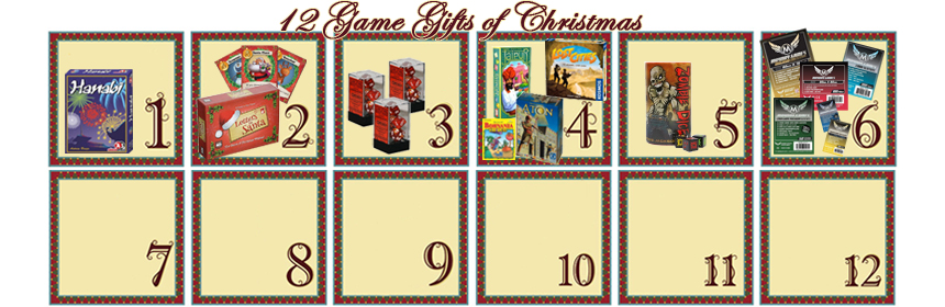 12 Game Gifts of Christmas: 6th Day