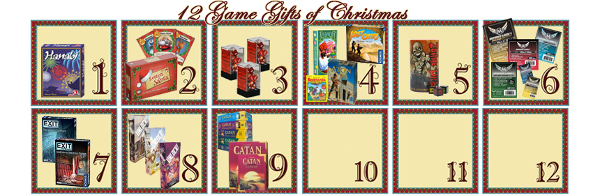 12 Game Gifts of Christmas: 9th Day