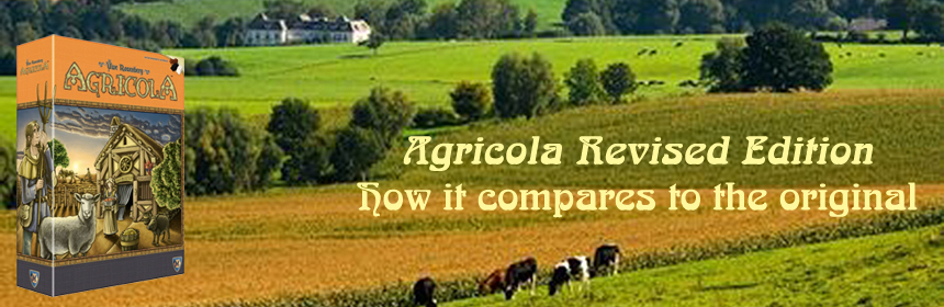 Agricola Revised Edition - How it compares to the original