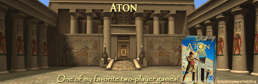Aton - One of my favorite two-player games!