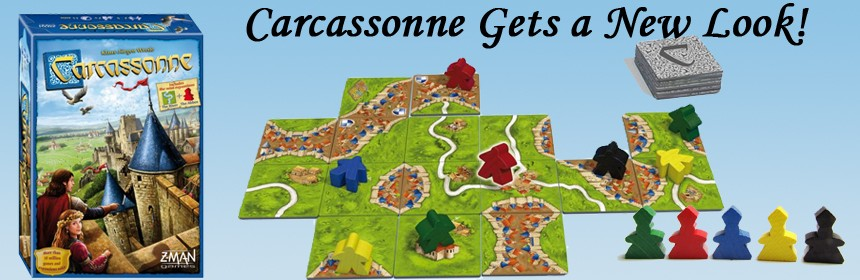 Carcassonne Gets a New Look