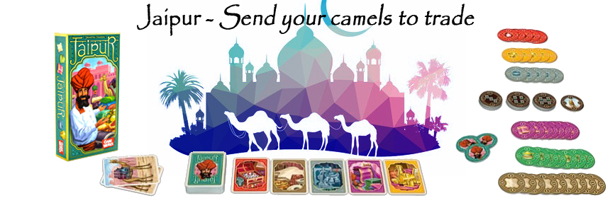 Jaipur - Send your camels to trade
