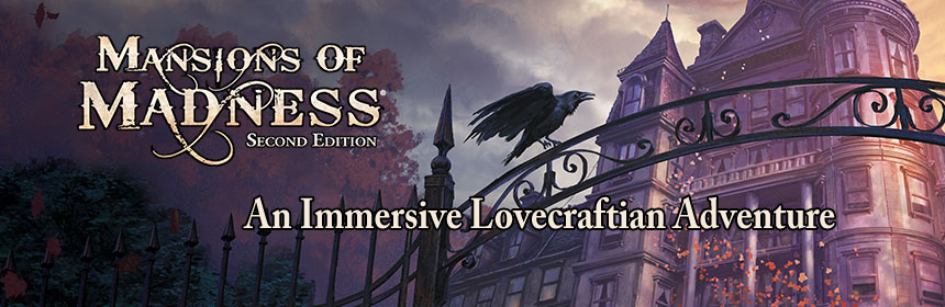 Mansions of Madness 2nd Edition - An Immersive Lovecraftian Adventure