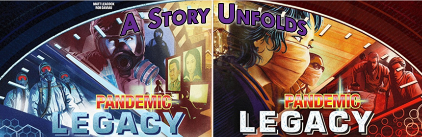 Pandemic Legacy - A Story Unfolds