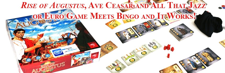 Ceasar and All That Jazz or Euro Game Meets Bingo and It Works!